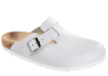 Birkenstock  - BOSTON  Glattleder - Weiss