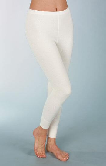 285b6a98606653 Medima Classic Damen-Unterhose lang mit 50% Angora weiß