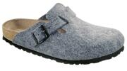 Birkenstock  - BOSTON  Wollfilz  - Grau