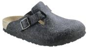 Birkenstock  - BOSTON  Wollfilz - Anthrazit