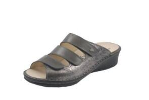 FinnComfort  Sandale Cremona Silber/Grey