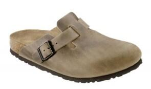 Birkenstock  - BOSTON  Nubukleder geölt - Tabacco Brown