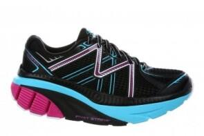 MBT Schuh Running Womens ZEE 16 W Black / Fuchsia / PowderBlue