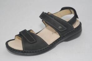 Alora Damen Schwarz S Sandale Finncomfort 0n8wPXkO