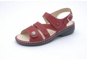 FinnComfort Sandale  Gomera  Indianred