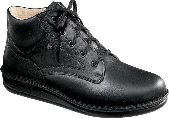 FinnComfort Prophylaxe Stiefel 96104 mit Schnürsenkel schwarz