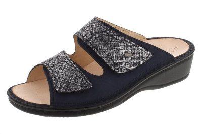 FinnComfort Sandale  JAMAIKA atlantic/argento