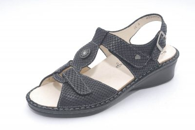 FinnComfort  Sandale Adana  Nero Aspide
