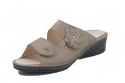 FinnComfort Damen-Sandale  Frisco Taupe