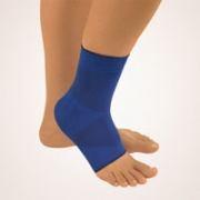 Bort Knöchelstütze Zweizug blau