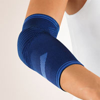 Bort KubiTal Ellenbogen-Polster-Bandage blau
