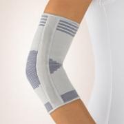 Zweizug Ellenbogen-Bandage silber Bort
