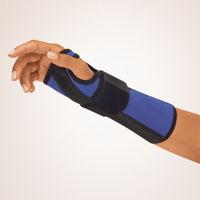 Bort Arm- und Handgelenkschiene blau Rechts