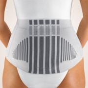 Rückenbandage Bort StabiloBasic Lady silber