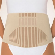 Rückenbandage mit Pelotte Bort StabiloBasic Haut