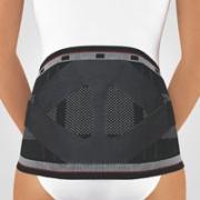 Rückenbandage mit Pelotte Bort Stabilo schwarz