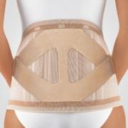 Rückenbandage mit Pelotte Bort Select Stabilo Lady haut