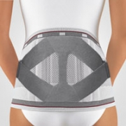 Rückenbandage mit Pelotte Bort Select Stabilo Lady silber