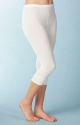 Medima Classic Damen-Hose 3/4 lang 20%  Angora weiß