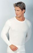 Medima  Classic Herren-Hemd 1/1 Arm 20% Angora, weiß