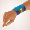 Bort Handgelenkbandage  mit Klettverschluss bunt gestreift