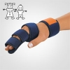 DigiSoft Fingerorthese Blau Kinder