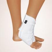 Knöchelstütze Stabilo mit Klettband weiß