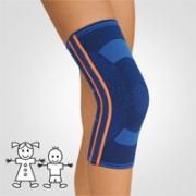 Kniebandage StabiloGen Eco blau Kinder
