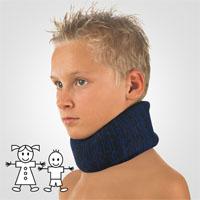 BORT Cervicalstütze Kinder blau Kinnhöhe 6,0cm