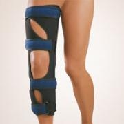Knie-Immob-Schiene einteilig 0 Grad