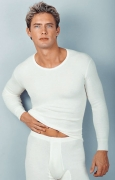 Medima Classic  Herren-Hemd 1/1 Arm 40% Angora, weiß
