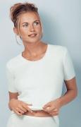 Medima Classic Damen-Hemd 1/4 Arm  40%  Angora weiß