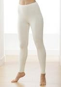 Medima Classic  Damen-Hose lang 100%  Angora weiß