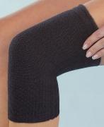 Medima Classic ThermoAS Kniewärmer (einzeln) mit Rutschbremse, schwarz