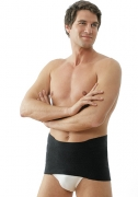 Medima Classic ThermoAS Rückenwärmer mit schmalem Bauchteil, schwarz