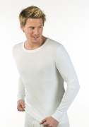 Medima Lingerie Herren-Hemd  1/1 Arm Air to Wear weiß