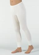 Medima Classic Damen-Hose lang Angora/Baumwolle weiß