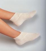 Medima Classic Fußwärmer mit extra weiten Bündchen, haut