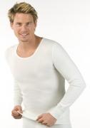 Medima Classic  Herren-Hemd 1/1 Arm Angora/Baumwolle weiß
