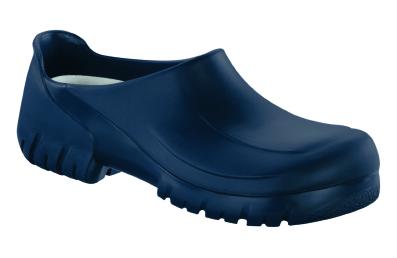 Birkenstock professional PU-Clog A 640 mit Stahlkappe  Blau
