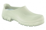 Birkenstock professional Clog  A 640 mit Stahlkappe  PU  Weiss