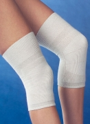 Medima Antisept Thermo-Kniewärmer bi-elastisch mit 30% Angora, naturmelange