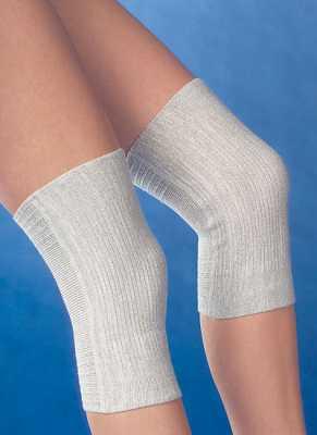 Medima Antisept  Thermo-Kniewärmer bi-elastisch, naturmelange