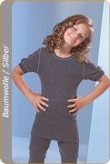 Medima  Antisept  Kinder-Hemd 1/4 Arm unisex, asphalt