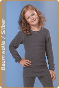Medima Antisept Kinder-Hemd 1/1 Arm unisex,  asphalt