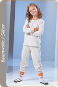 Medima Antisept  Kinder-Schlafanzug unisex, naturmelange