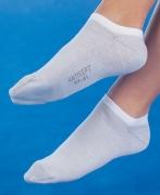 Medima Antisept Sneaker-Socke unisex, weiß