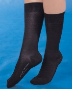 Medima Antisept Angora-Softsocke unisex, schwarz
