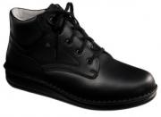 FinnComfort - Prophylaxe  Stiefel 96104 mit Schnürsenkel schwarz