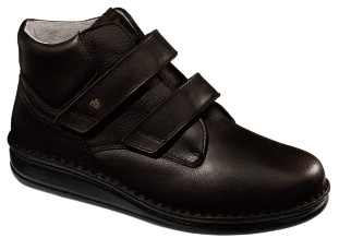 FinnComfort - Prophylaxe  Stiefel 96106 mit Klettverschluss schwarz
